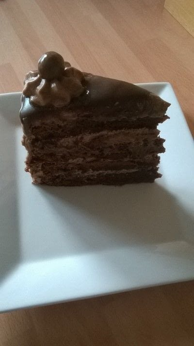 How to bake a chocolate cake. Malteser Cake - Step 18