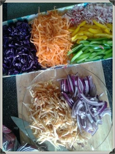 How to make coleslaw. Homemade Fruity Coleslaw - Step 1