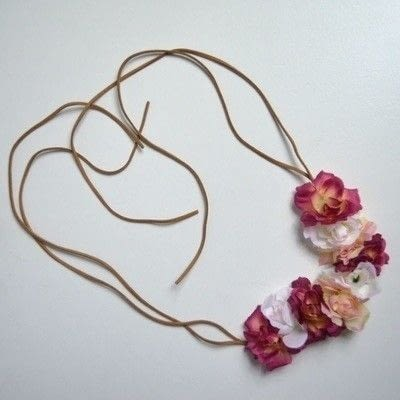 How to make a flower crown. Bambi Inspired Floral Headband - Step 1
