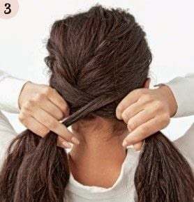 How to style a fishtail braid. Romantic Fishtail - Step 3