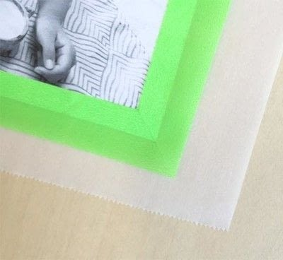 How to make a frame / photo holder. Washi Tape Framed Photos - Step 4