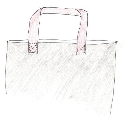 How to sew a leather tote. Slouchy Leather Bag - Step 11