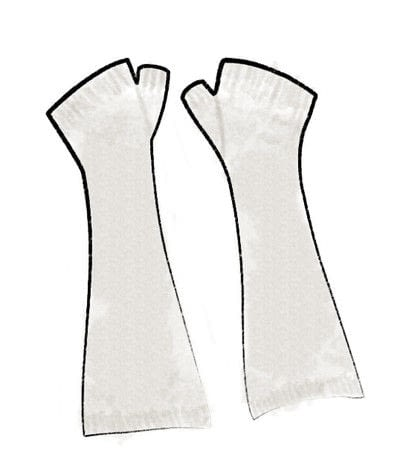 How to stitch a knit or crochet glove. Black Locust Mitts - Step 6