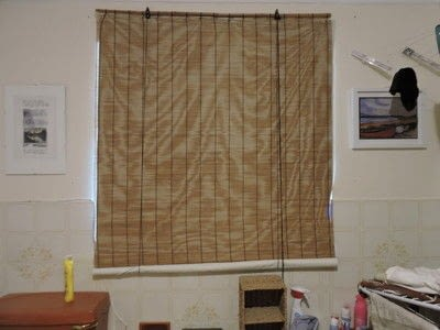 How to make a curtain/blinds. No Sew Rollup Blind - Step 25