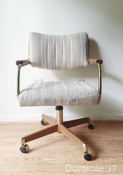 How to make a chair. How To Reupholster A Cantilever Chair - Step 1