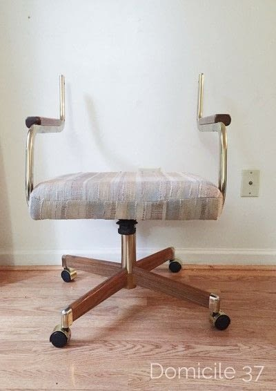 How to make a chair. How To Reupholster A Cantilever Chair - Step 2