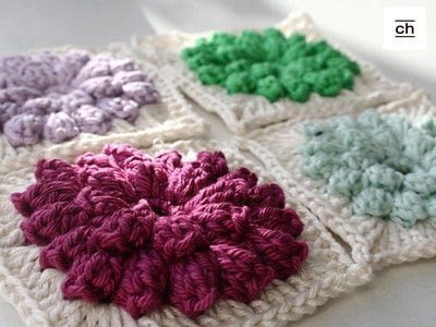 How to crochet a granny square. Crochet Along - Step 9