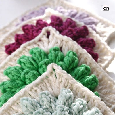 How to crochet a granny square. Crochet Along - Step 10