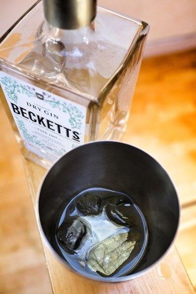 How to mix a flip cocktail. Frangipane Flip - Step 2
