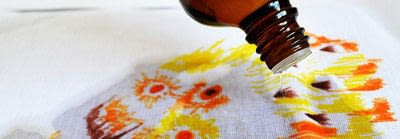 How to make a painted cushion. Watercolor Pillow Cover - Step 2