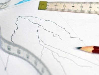 How to make string art. Geometric Wall Art - Step 1