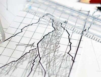 How to make string art. Geometric Wall Art - Step 2