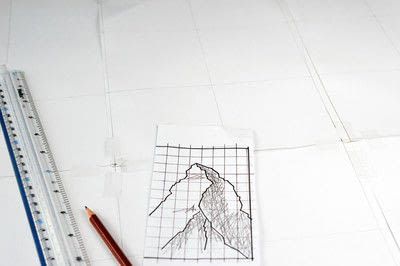 How to make string art. Geometric Wall Art - Step 3