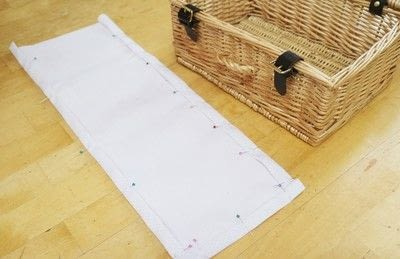 How to make an outdoor accessory. Picnic Basket - Step 4