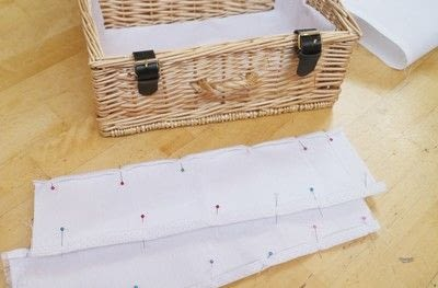 How to make an outdoor accessory. Picnic Basket - Step 7