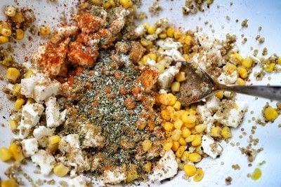 How to cook a veggie burger. Feta & Quinoa Burgers - Step 3