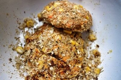 How to cook a veggie burger. Feta & Quinoa Burgers - Step 7