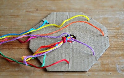 How to make a gift bow. Gift Wrap Ribbon - Step 1
