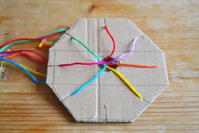 How to make a gift bow. Gift Wrap Ribbon - Step 2