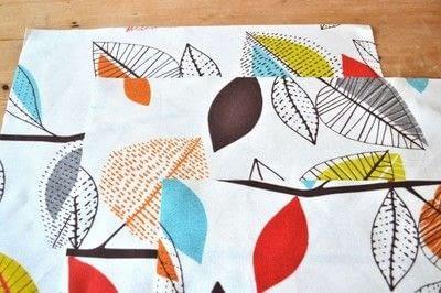 How to make a cushion. Envelope Cushion - Step 1