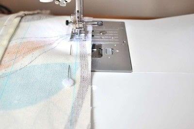 How to make a cushion. Envelope Cushion - Step 4