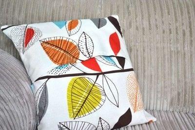 How to make a cushion. Envelope Cushion - Step 7