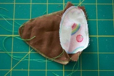 How to make a pet toy. Mouse Cat Toy - Step 2