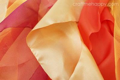 How to make a tutu. Autumnal Cascading Tutu - Step 7