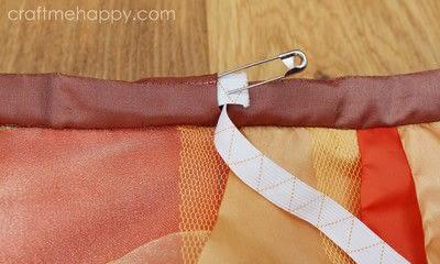 How to make a tutu. Autumnal Cascading Tutu - Step 15