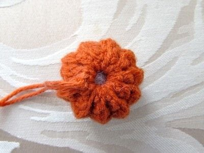 How to make a pumpkin plushie. Crochet Jack O' Lantern - Step 7