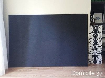 How to make a hanging. Create A Large Wall Art Using The Herringbone Pattern - Step 2