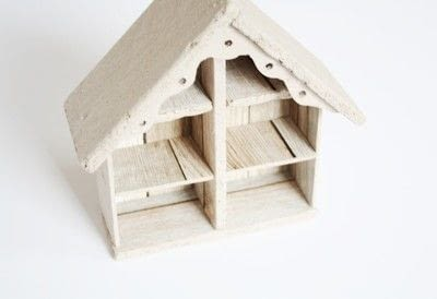 How to make a dolls house. Diy Halloween Haunted House - Step 1
