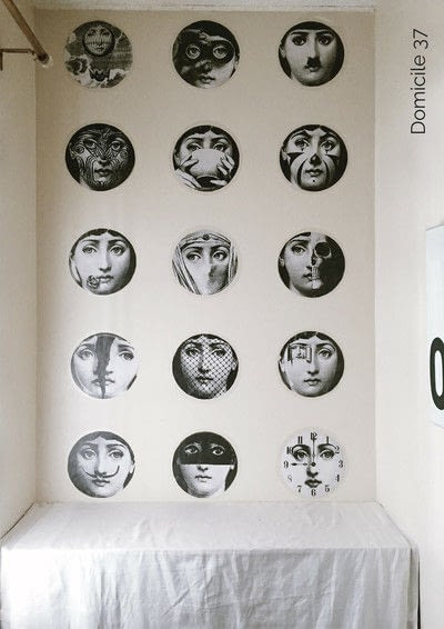 How to make wallpaper / a wall painting. Diy Fornasetti Wallpaper - Step 2