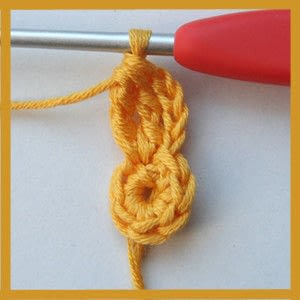 How to make a garland. Colorful Crochet Garland - Step 5