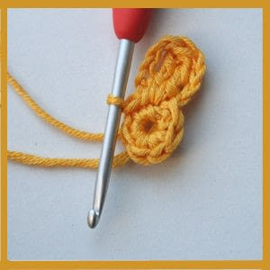 How to make a garland. Colorful Crochet Garland - Step 6