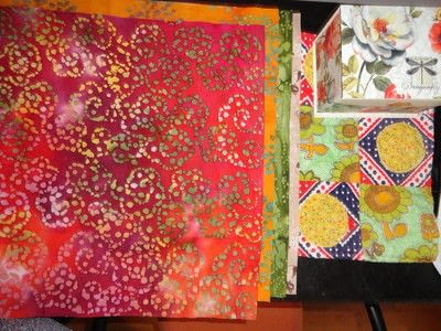 How to make a patchwork quilt. Apple Blossom Quilt - Step 2