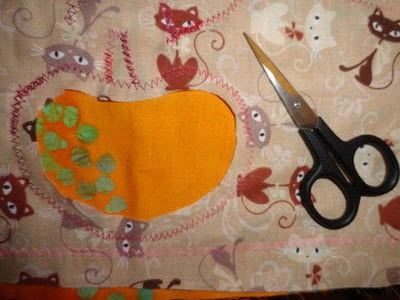 How to make a patchwork quilt. Apple Blossom Quilt - Step 5
