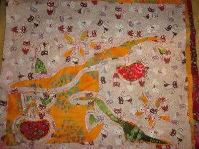 How to make a patchwork quilt. Apple Blossom Quilt - Step 6