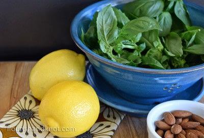 How to make pesto. Homemade Lemon Pesto - Step 1