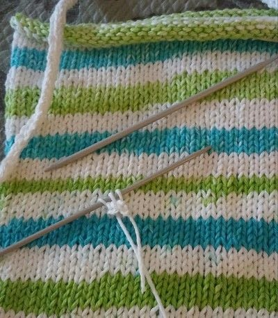 How to stitch a knit or crochet bag. Summer Totebag - Step 3