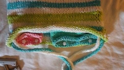 How to stitch a knit or crochet bag. Summer Totebag - Step 7