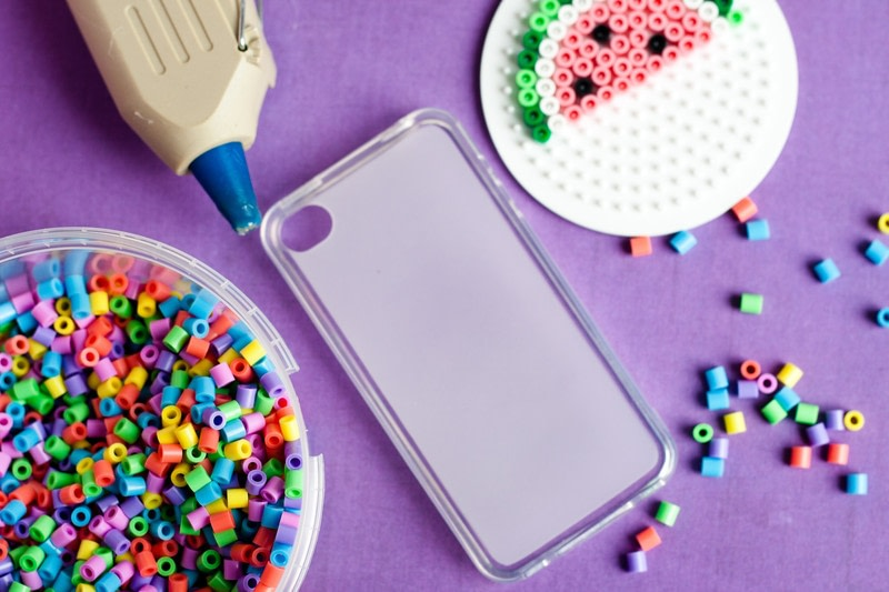 Perler Beads Phone Cover How To Make A Bejewelled Case