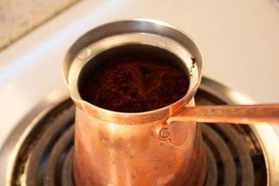 How to make a coffee. Greek Coffee - Step 1