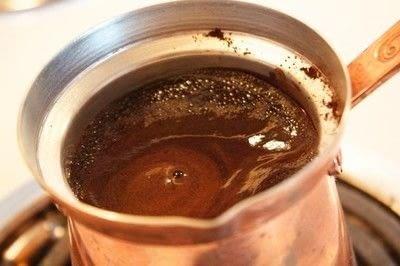 How to make a coffee. Greek Coffee - Step 3