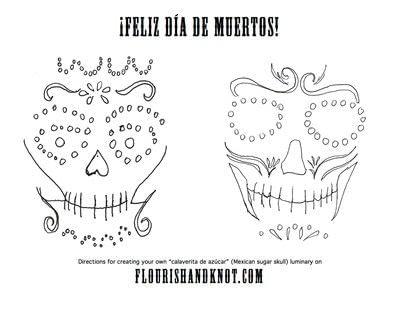 How to make a lantern. Día De Muertos (Day Of The Dead) Luminaries - Step 1