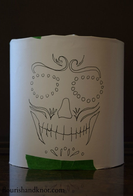 D 237 A De Muertos Day Of The Dead Luminaries 183 How To Make