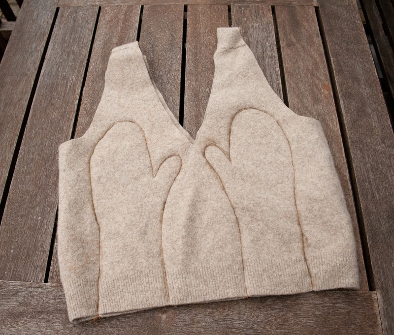 Cosy Mittens · How To Make Mittens · Sewing On Cut Out