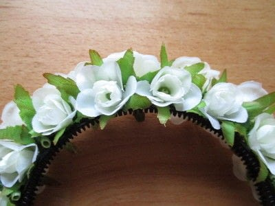 How to make a flower crown. Flower Crown - Step 2