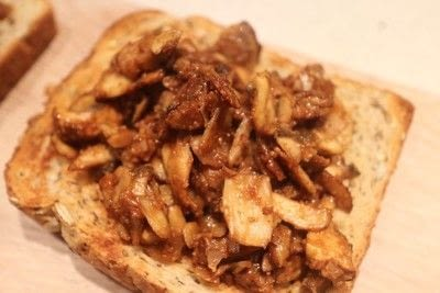 How to cook a sandwich. Mushrooms On Toast - Step 5