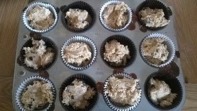 How to bake a muffin. Chocolate Orange Muffins  - Step 6